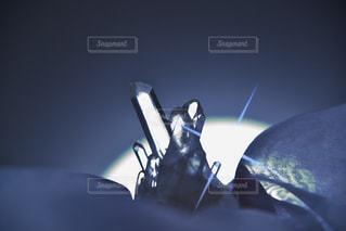 水晶クラスターの写真・画像素材[1315313]