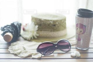 夏のおでかけセットの写真・画像素材[1342118]