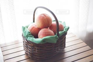 桃の写真・画像素材[1371873]