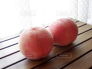 美味しい桃の写真・画像素材[1388727]