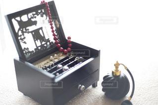 ジュエリーボックスの写真・画像素材[1432800]