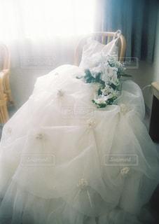 ウェディングドレスの写真・画像素材[1444627]