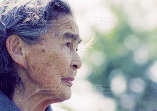 時を語る横顔の写真・画像素材[1454997]