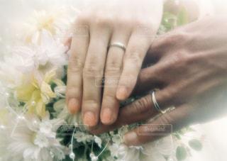 私たち結婚しました。の写真・画像素材[1510914]