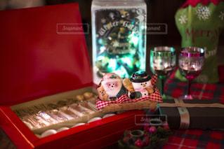 待ち遠しいクリスマスパーティーの写真・画像素材[1641485]