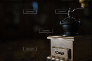 我が家のコーヒーミルの写真・画像素材[1655636]