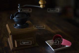 我が家のコーヒーミルの写真・画像素材[1657999]