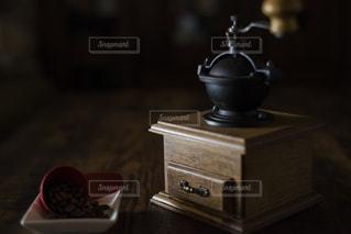 我が家のコーヒーミルの写真・画像素材[1658000]