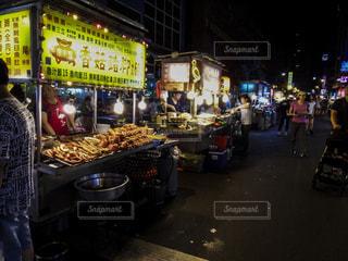 華西街観光夜市の写真・画像素材[1677278]
