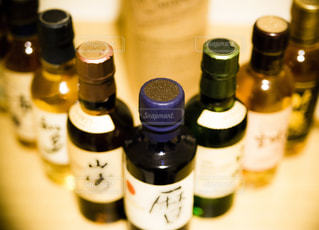 ウイスキーミニボトルの写真・画像素材[1839496]
