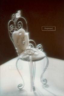 かわいい椅子のリングピローの写真・画像素材[1848478]