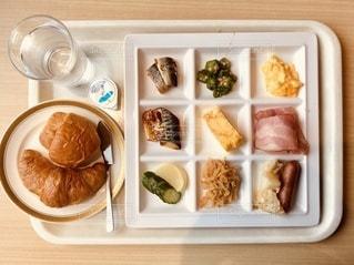 朝食バイキングの写真・画像素材[3588579]