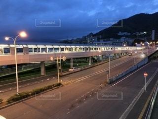 新井口駅周辺の夜景の写真・画像素材[1272608]