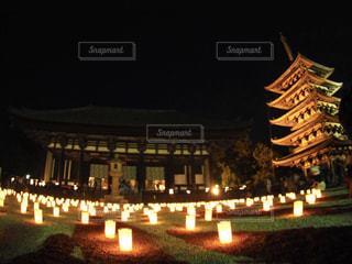 昨年の奈良燈花会の写真・画像素材[1278964]