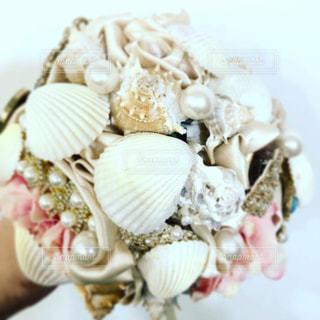 貝がら宝石ブーケの写真・画像素材[2686346]