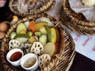 蒸し野菜の写真・画像素材[1281655]