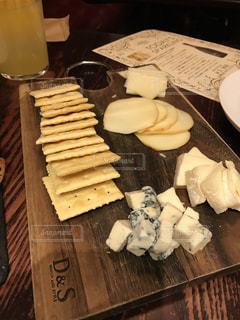 チーズ大好き  癒しのテーブルの写真・画像素材[1273578]