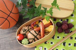 バスケ部のお弁当の写真・画像素材[1275222]