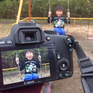 公園で遊ぶ次男くん...♪*゚の写真・画像素材[3141275]