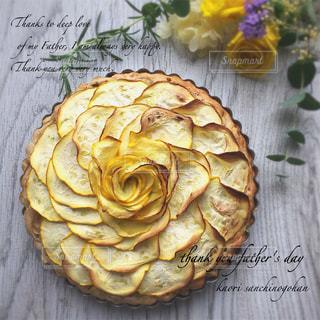 ズッキーニ薔薇パウンドケーキの写真・画像素材[1276177]