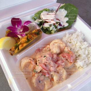 ハワイで1番美味しかったガーリックシュリンプの写真・画像素材[1276723]
