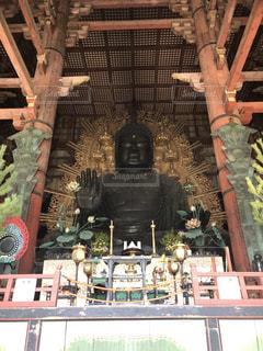 奈良の大仏の写真・画像素材[1862654]