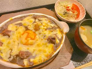 焼きカレー定食の写真・画像素材[1298992]
