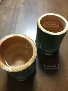竹でグラスを作りましたの写真・画像素材[1279372]