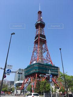 札幌のテレビ塔です。の写真・画像素材[1277214]