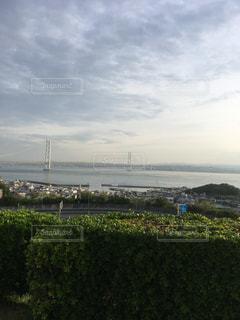 橋のかかる海の写真・画像素材[1280193]