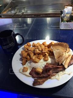 アメリカンダイナーの朝食の写真・画像素材[1277820]