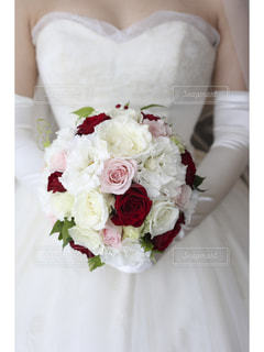 結婚式のブーケの写真・画像素材[1697091]