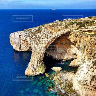 マルタの青の洞門の写真・画像素材[1278196]