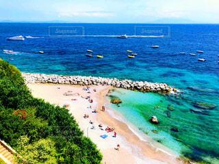 カプリ島の海の写真・画像素材[1278202]