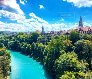 スイスの首都ベルンの美しい景色の写真・画像素材[1278208]