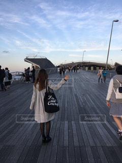 横浜船上ディナーへの写真・画像素材[1279728]