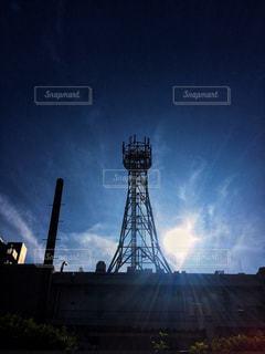 空と塔の写真・画像素材[1294026]