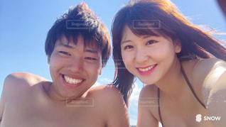 数人カメラにポーズの写真・画像素材[1281046]