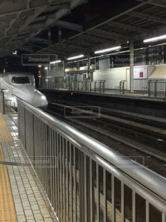 新幹線が入ってきたの写真・画像素材[1308411]