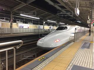新幹線が行くの写真・画像素材[1308749]