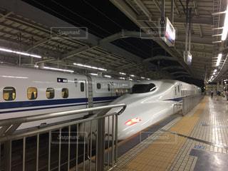 新幹線が入ってきた!の写真・画像素材[1311283]