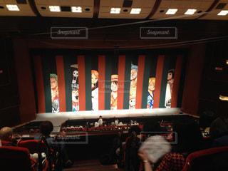 スーパー歌舞伎の舞台幕の写真・画像素材[1339619]