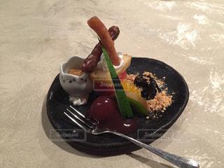 食後のデザートの写真・画像素材[1376904]