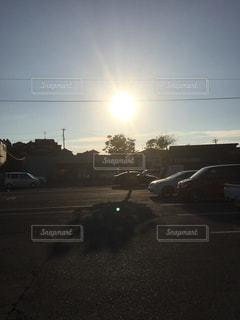 おもしろい影の写真・画像素材[1402684]