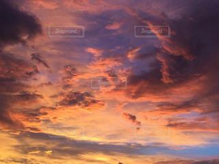 朝焼けの中にの写真・画像素材[1407086]