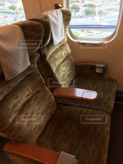 新幹線の座席の写真・画像素材[1481893]