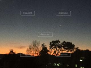 夜明け前の写真・画像素材[1747682]