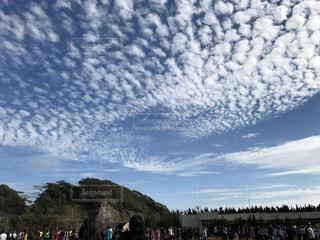 羊雲の写真・画像素材[1280715]