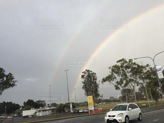 虹の街の写真・画像素材[1280988]