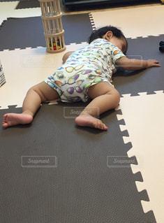 ふて寝の写真・画像素材[1284366]